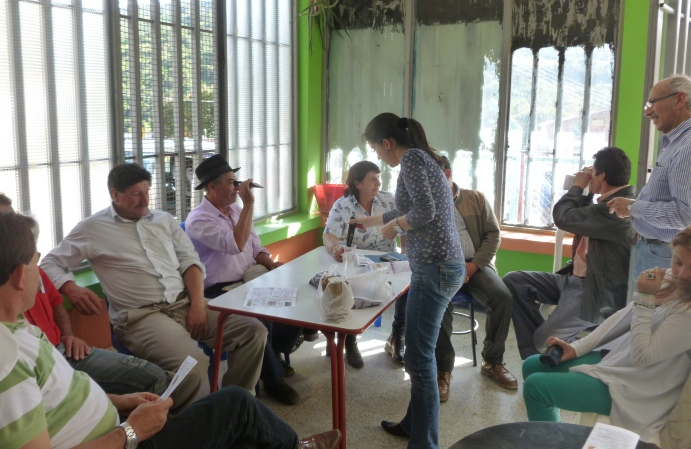 UNIAGRARIA, capacita a productores de mora y mango en los municipios de la Mesa y Gachetá (2)