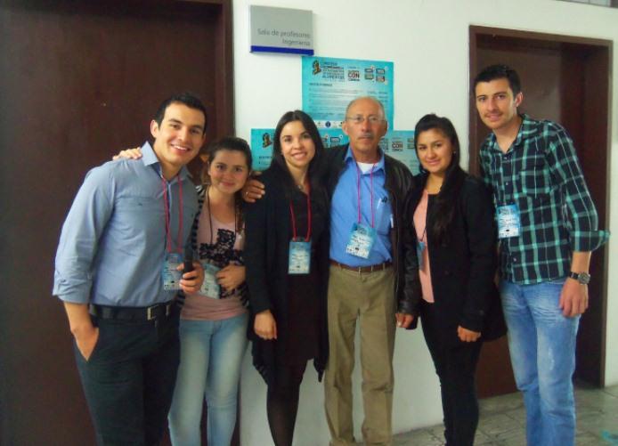 UNIAGRARIA presente en el 1ER Congreso Colombiano de estudiantes de Ingeniería de Alimentos