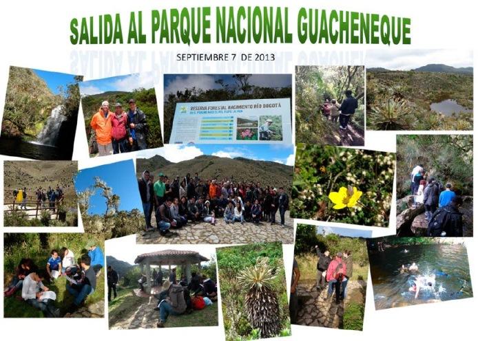 Salida al Parque Nacional Guacheneque