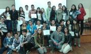 Estudiantes del Colegio San Juan de Ávila