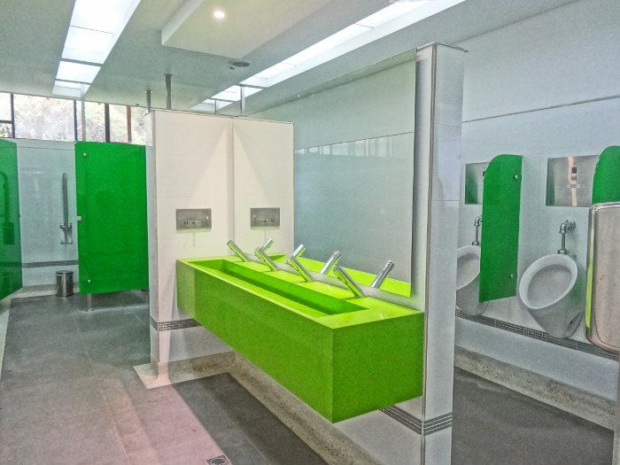 Uniagraria pone en funcionamiento nuevos baños