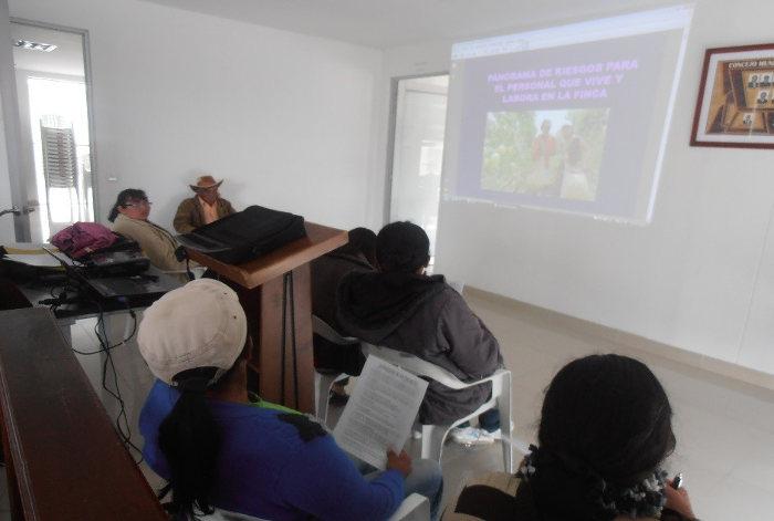 Capacitación del Programa Ingeniería de Alimentos en Chipaque