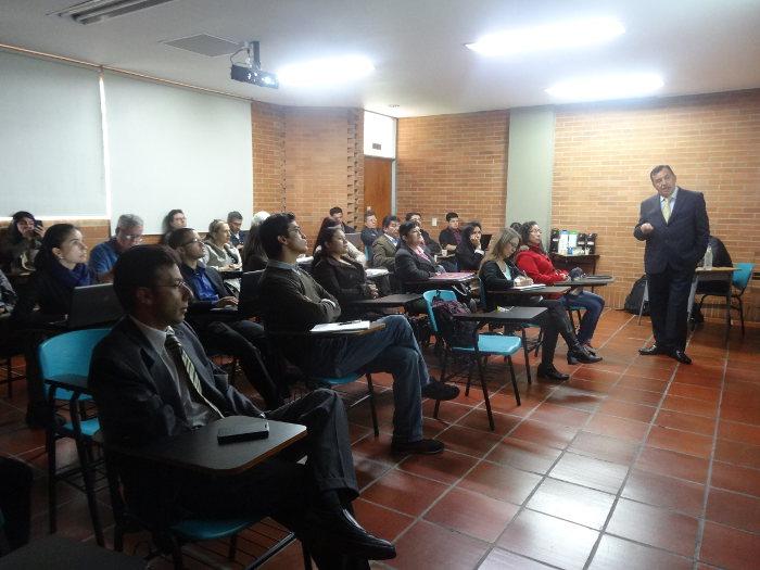 Nos visitó el Dr. Oscar Hernán Quiroga, Alcalde del municipio de Viotá