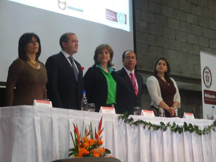 Uniagraria presente en el reconocimiento que le otorgó el municipio de Facatativá a la Dra. María Fernanda Campo Saavedra, actual Ministra de Educación