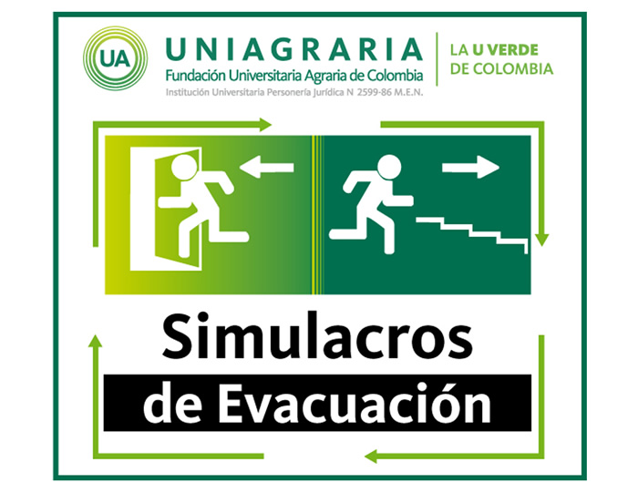 Inician simulacros de evacuación en Uniagraria