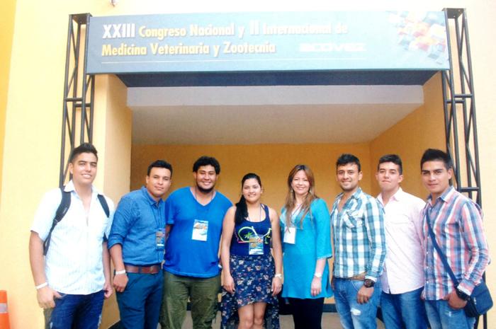 UNIAGRARIA participó en el XXIII Congreso Nacional y II Internacional de Medicina Veterinaria y Zootecnia de Colombia.