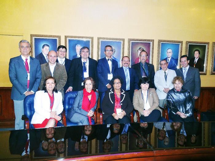 Uniagraria acogió en sus instalaciones a los integrantes del Consejo Panamericano de Educación en las Ciencias Veterinarias – COPEVET