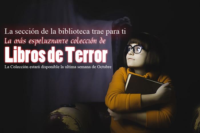 Una Colección Espeluznante de Libros de Terror