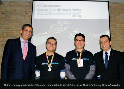 Olimpiadas Nacionales de Mecatrónica de FESTO 2014