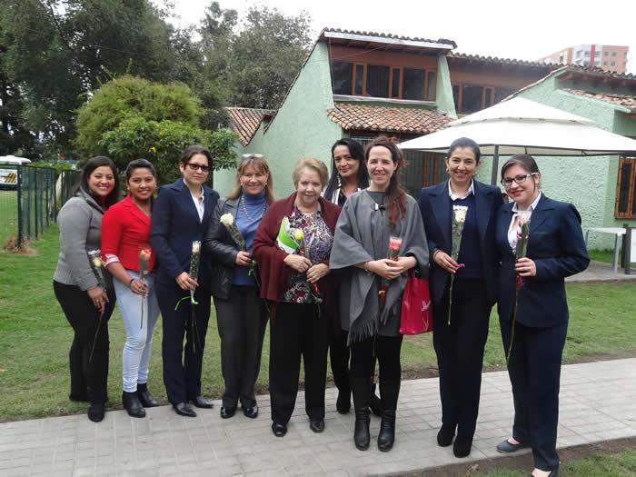 Celebración día de la mujer en Uniagraria