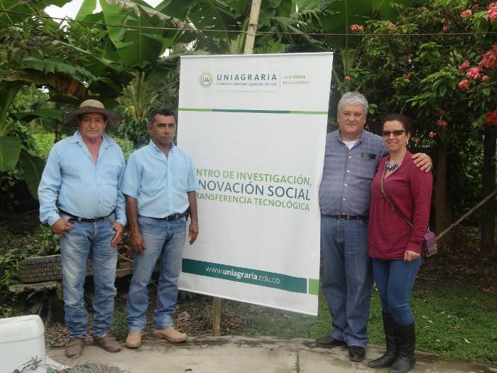UNIAGRARIA Inauguró el Centro de Investigación, Innovación Social y Transferencia Tecnológica en el Municipio de Fuentedeoro – Meta.