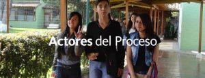 Actores del proceso