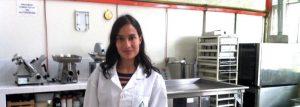 Loredana Luliano, estudiante de ingeniería de alimentos
