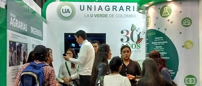 UNIAGRARIA presente en la feria educativa más grande de América Latina