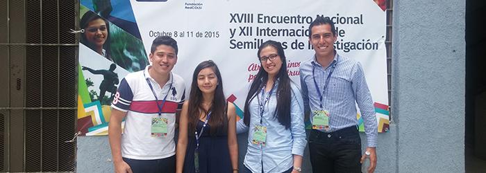 Talento Uniagrarista presente en el XVIII Encuentro Nacional y el XII Internacional de Semilleros de Investigación