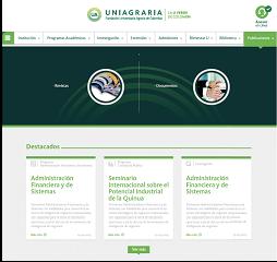 Nueva página web UNIAGRARIA