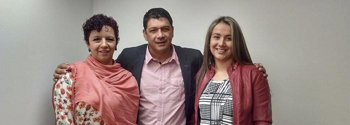 El Alcalde de San Juan de Arama visitó UNIAGRARIA