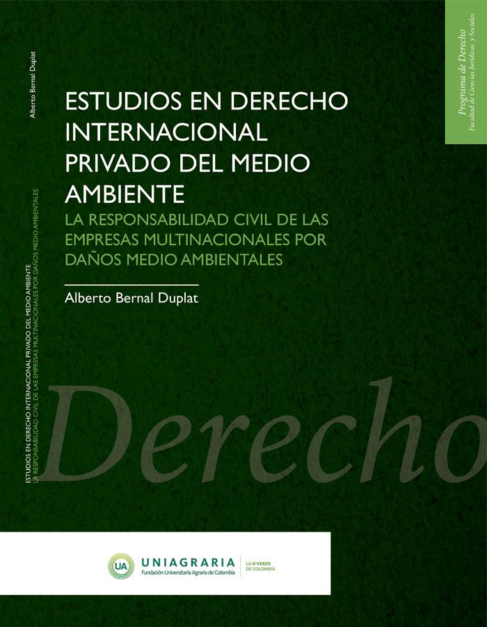 Estudios en derecho internacional privado del medio ambiente