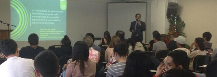 UNIAGRARIA en la V Semana Contable de la Universidad Gran Colombia – Armenia