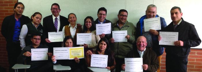 Funcionarios Uniagraristas camino al bilingüismo