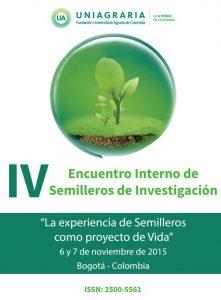 Memorias IV Encuentro Interno de Semilleros de Investigación