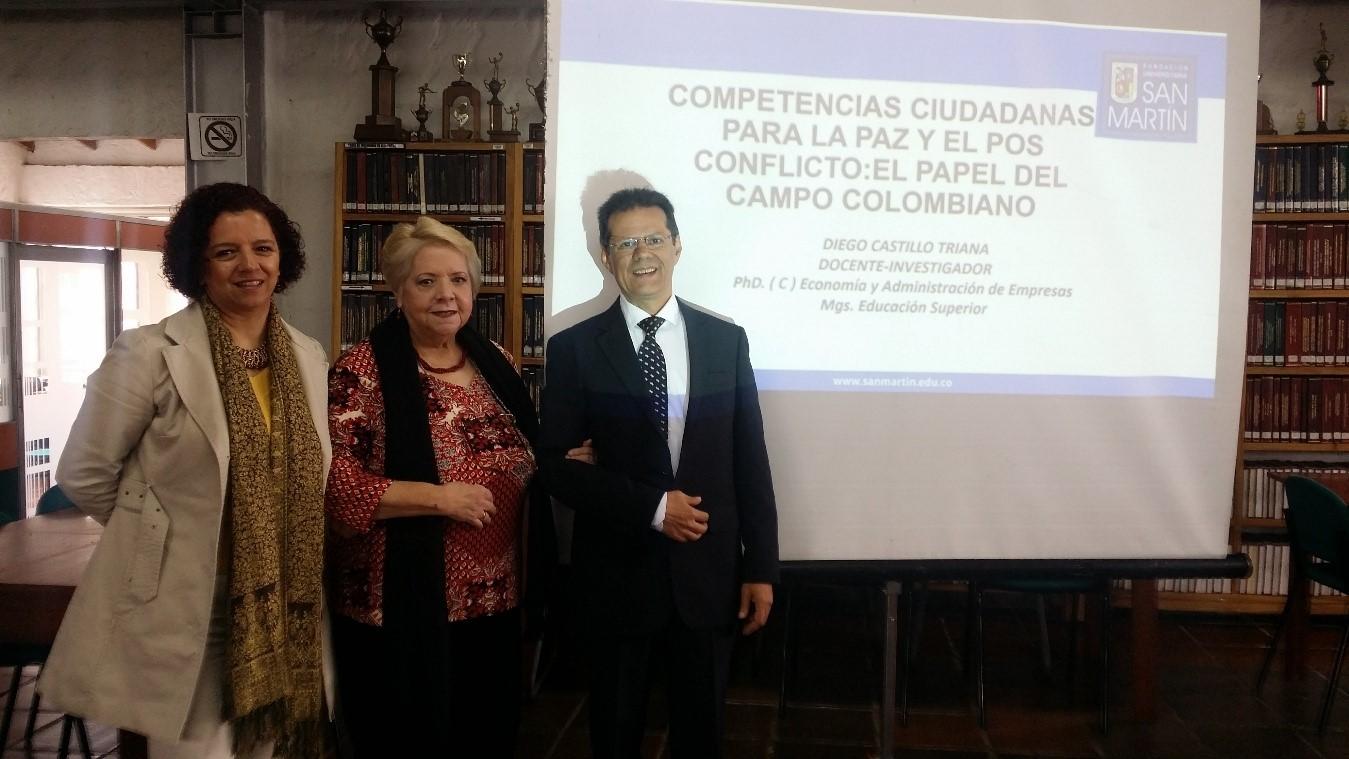 """Conferencia """"Competencias ciudadanas para la paz y el posconflicto"""" se realizó en UNIAGRARIA"""