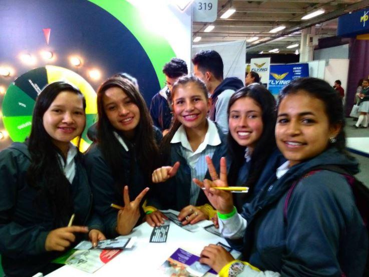 UNIAGRARIA en la feria de educación Expo-Estudiante