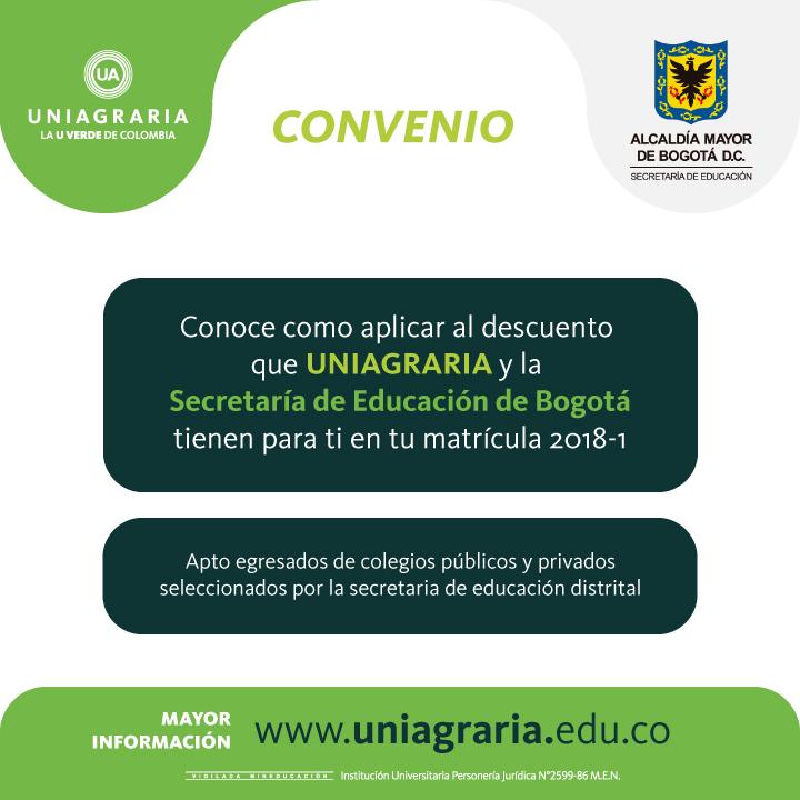 Convenio FEST con la Secretaría de Educación Distrial
