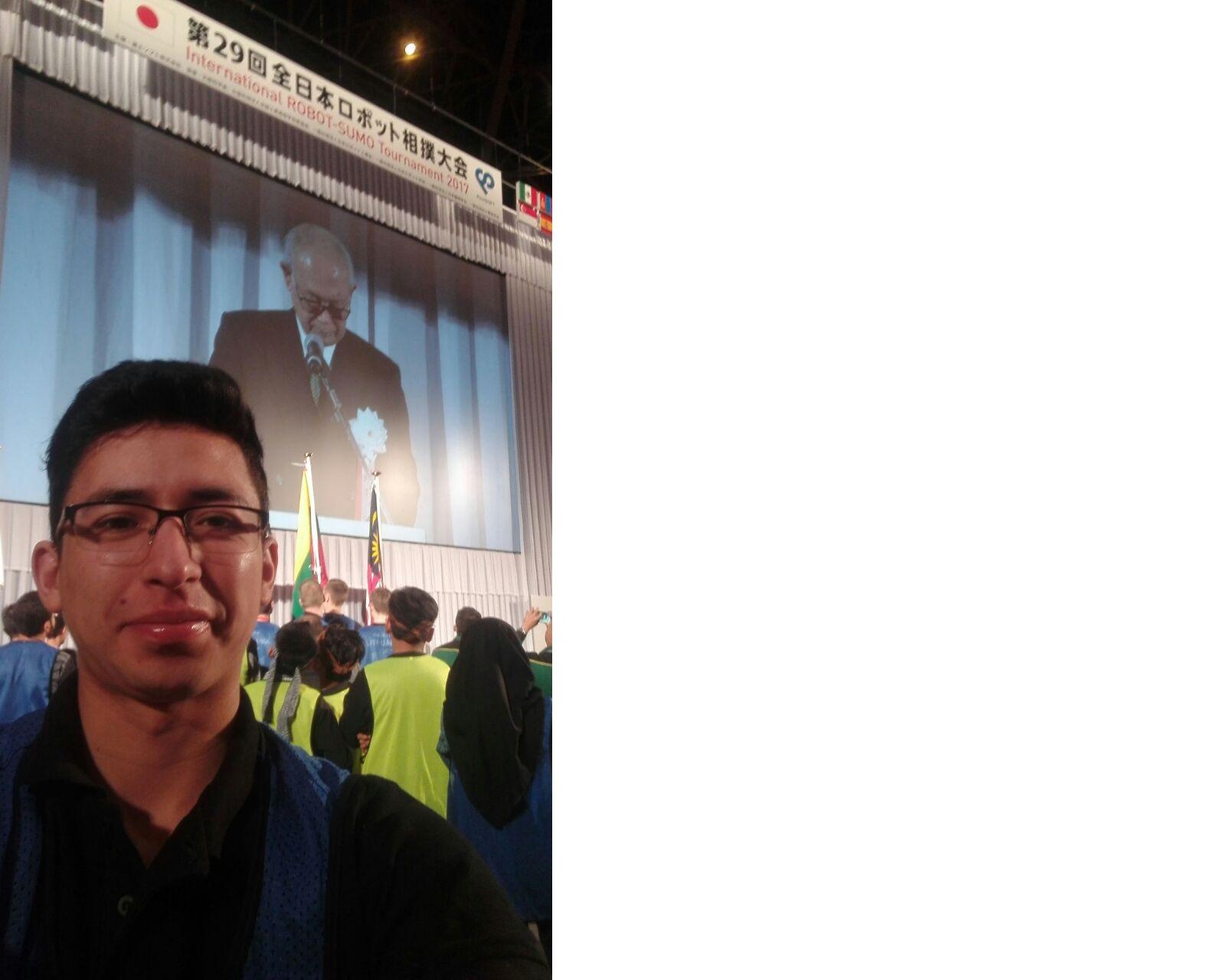Estudiante Uniagrarista entre los 18 mejores del torneo internacional de Robot-Sumo en Japón