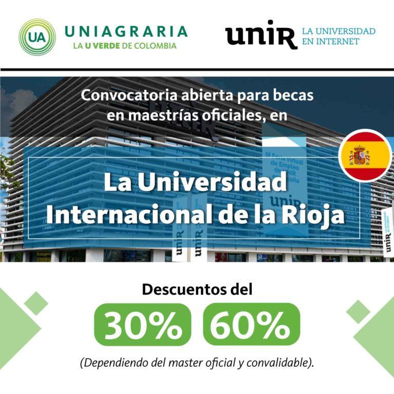 Convocatoria para becas en la Universidad Internacional de La Rioja