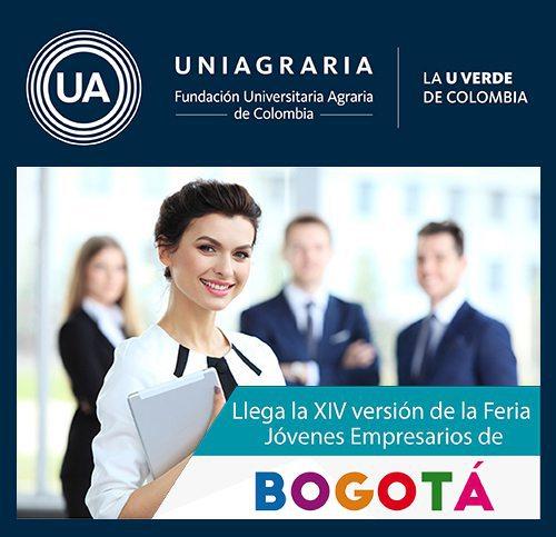 Postúlese hasta el 15 de junio en la  XIV Feria de Jóvenes Empresarios de Bogotá