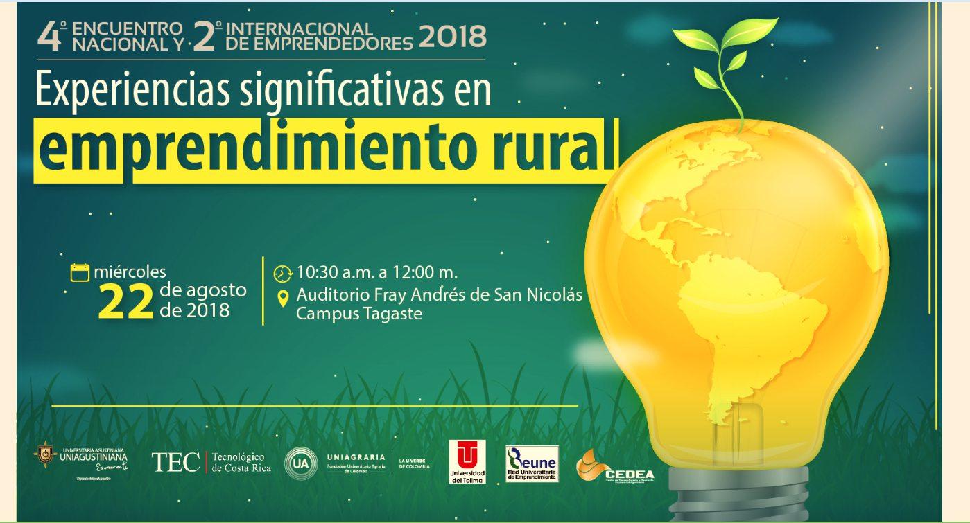 4to encuentro nacional y 2do internacional de emprendedores 2018