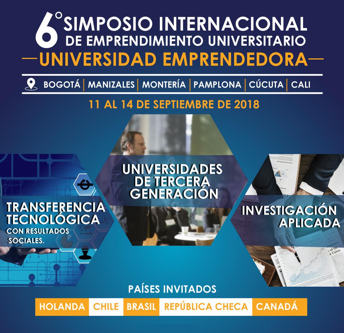 6 Simposio internacional de emprendimiento universitario