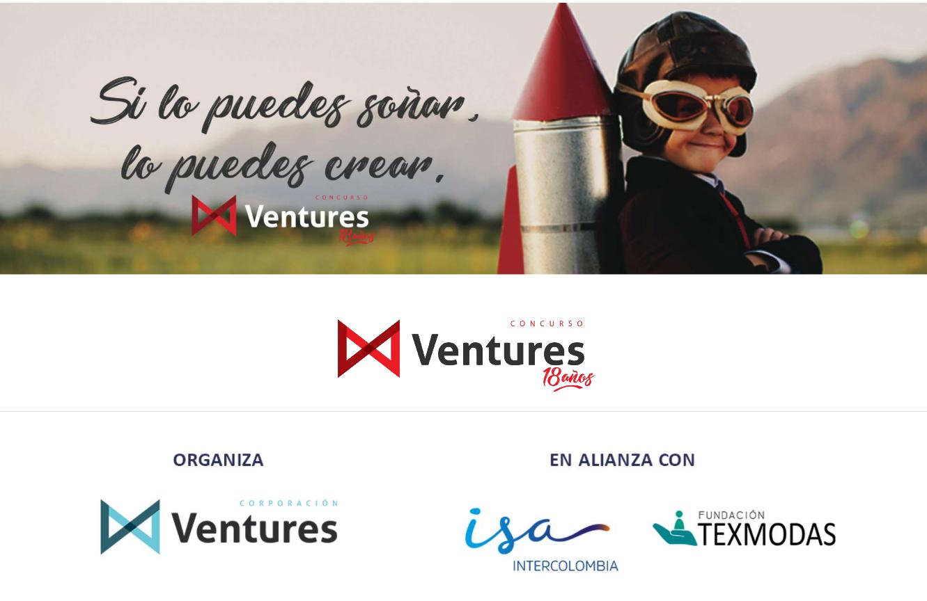Pasa la voz… ¡El Concurso Ventures 2018 abre inscripciones!