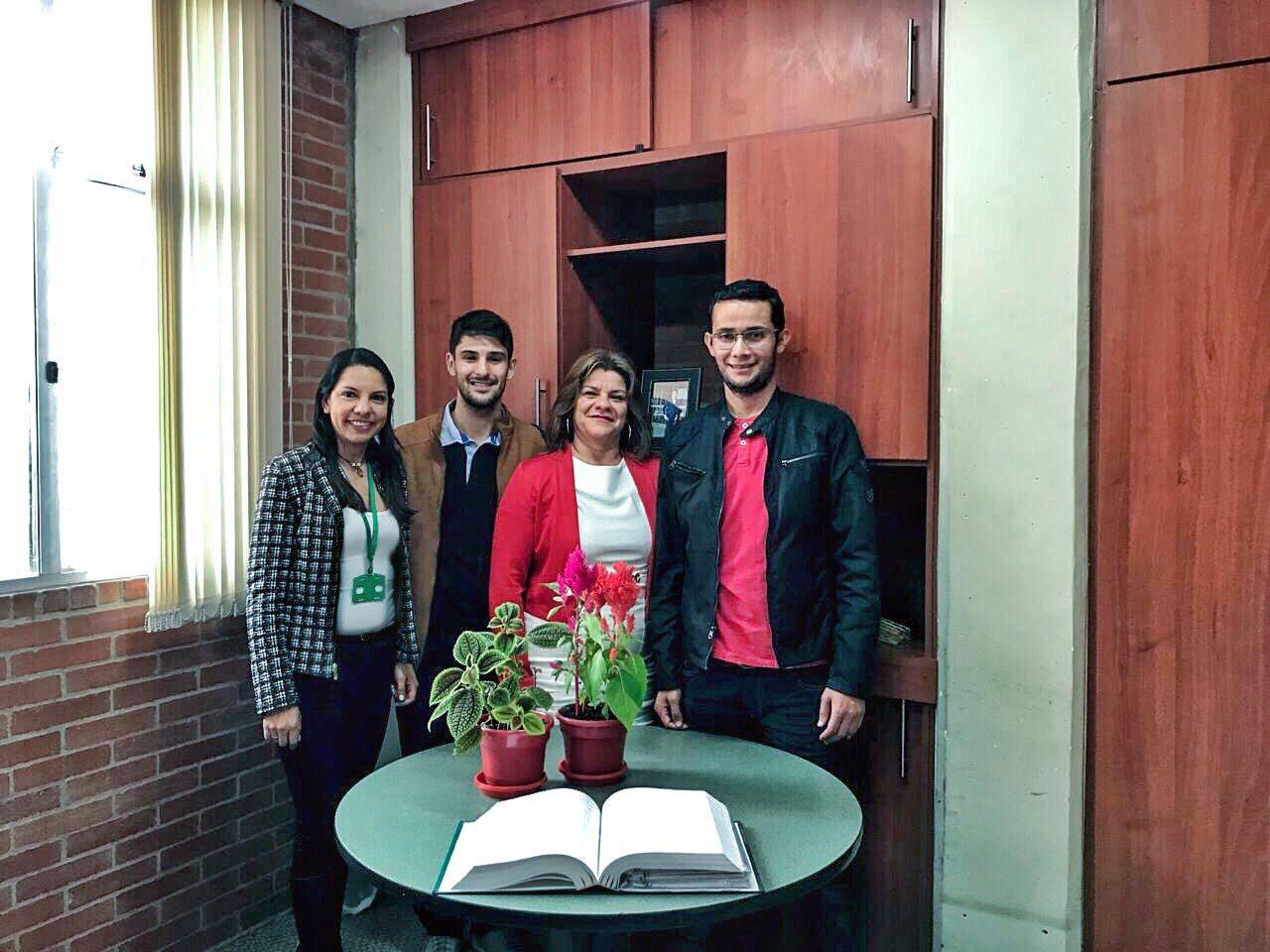 """""""Minha estadia na Colômbia é uma experiência única para meu crescimento pessoal e profissional"""": Leonan Rigón"""