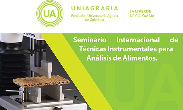 Seminario internacional de técnicas instrumentales para análisis de alimentos