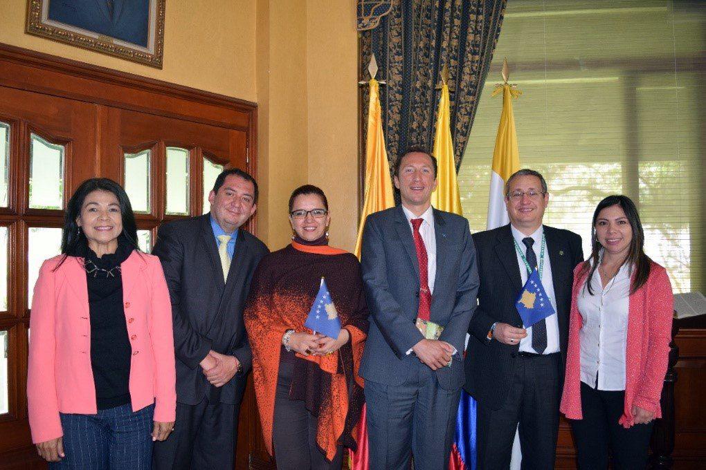 Uniagraria recibe visita del embajador de la República de Kosovo