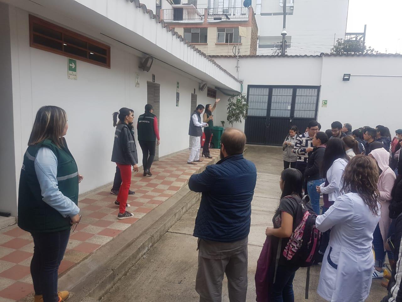 En Facatativá también fue un éxito el Séptimo Simulacro de Evacuación Nacional