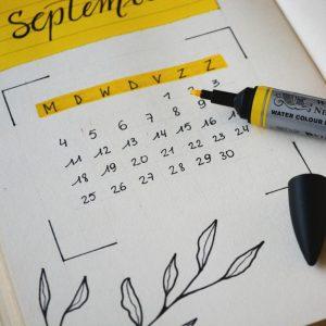Calendario de inscripción de cursos para estudiantes antiguos y de reintegro 2019-01
