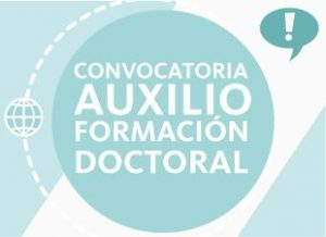 Convocatoria de auxilio de formación doctoral para docentes de tiempo completo