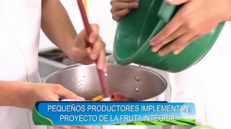 Pequeños productores implementan proyecto de la fruta integral con el apoyo de Uniagraria