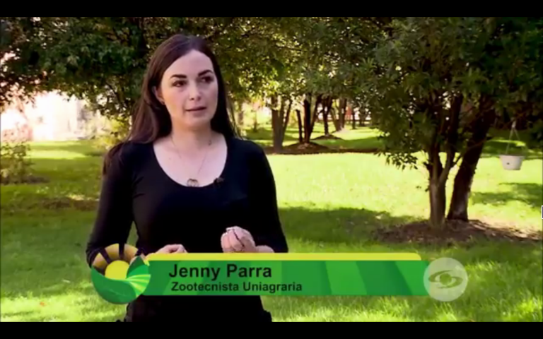 Jenny Parra – Zootecnista Uniagraria en la Finca de hoy