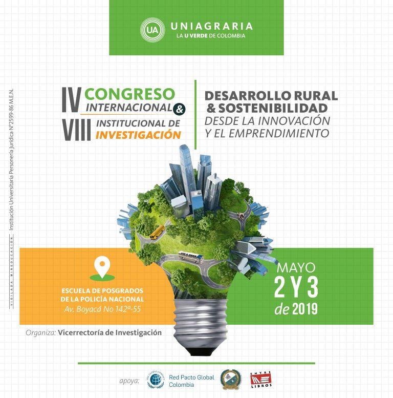 ¡Abiertas inscripciones para el lV Congreso Internacional y VIII Institucional de Investigación!
