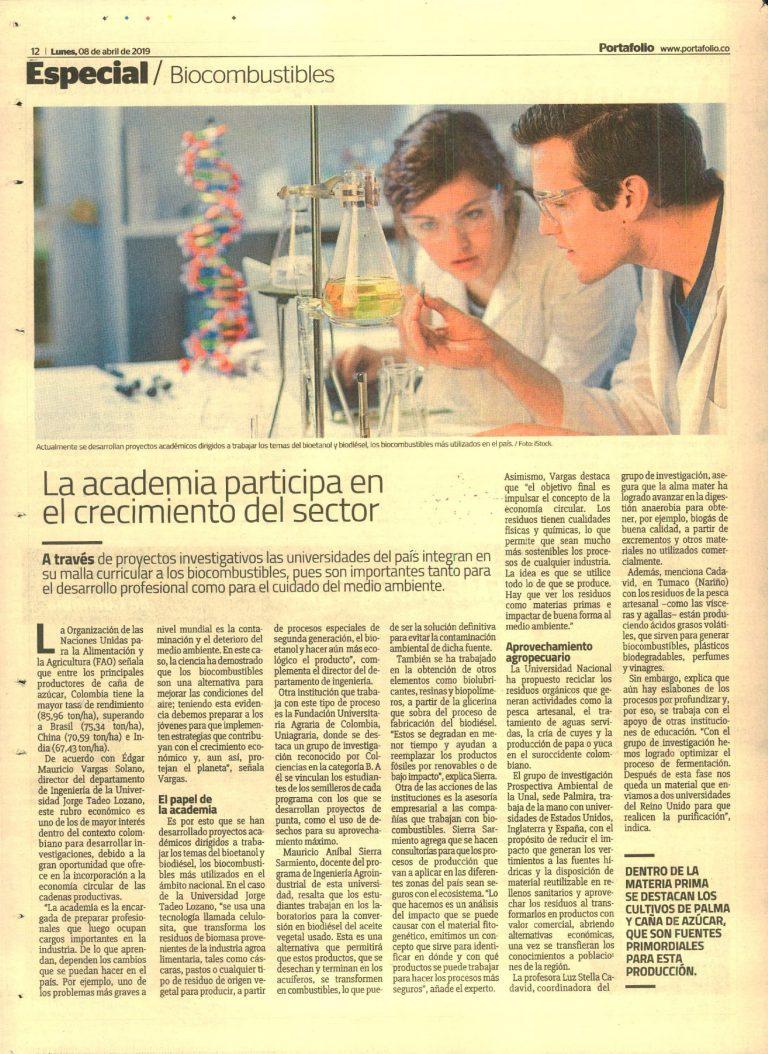 La academia participa en el crecimiento del sector. #UAenmedios