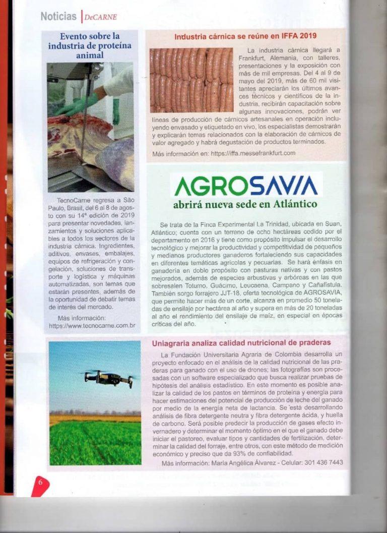 Uniagraria analiza calidad nutricional de praderas. #UAenmedios