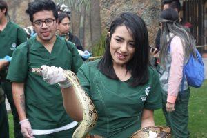 Estudiantes del Programa de Medicina Veterinaria visitan el Parque Jaime Duque
