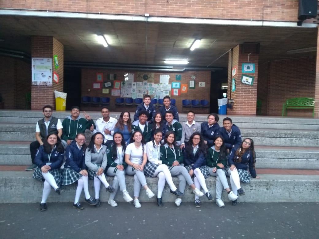 ¡Catedra de  Cambio Climático y Ruralidad llega a  los colegios !