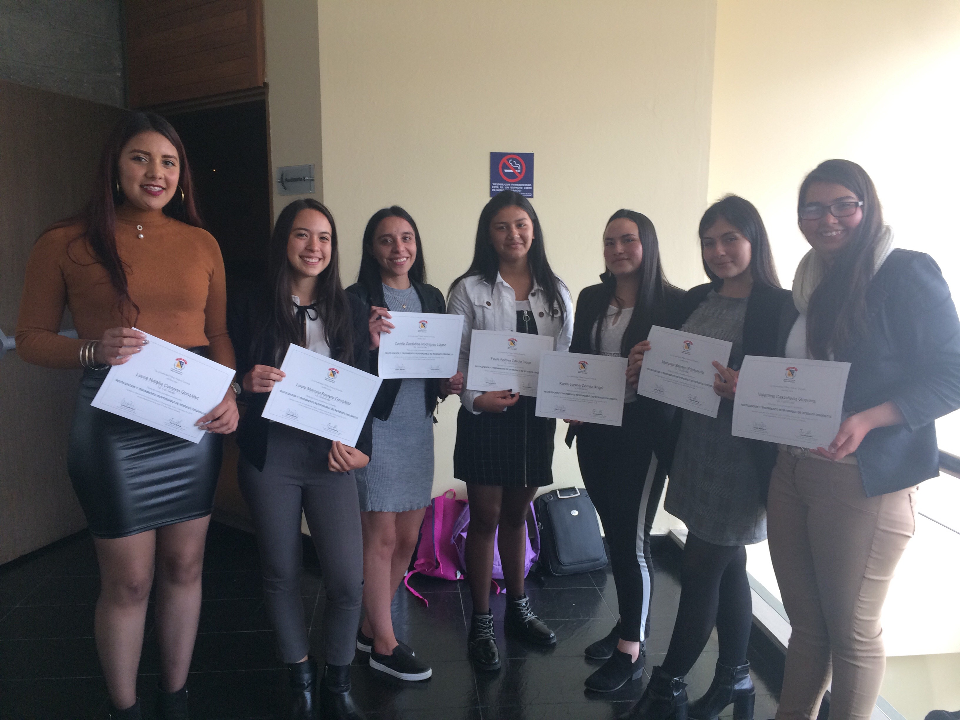 Estudiantes Uniagraristas presentes en SIDATA 2019