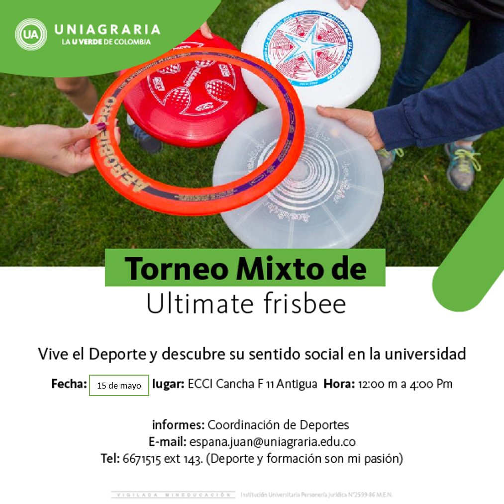 Torneo Mixto de Ultimate frisbee