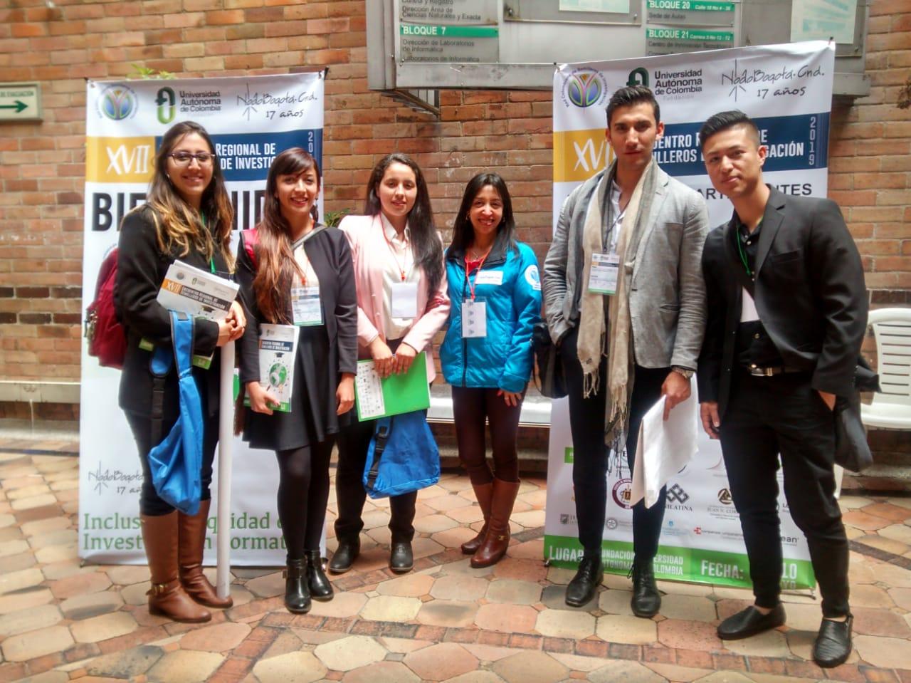 UNIAGRARIA presente en el XVII Encuentro Regional de Semilleros de Investigación RedCOLSI